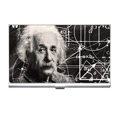 Albert Einstein Business Card Holders by Valentinaart