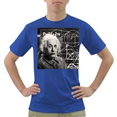 Albert Einstein Dark T Shirt by Valentinaart