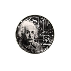 Albert Einstein Hat Clip Ball Marker by Valentinaart