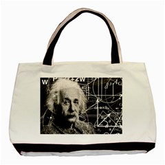 Albert Einstein Basic Tote Bag by Valentinaart