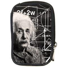 Albert Einstein Compact Camera Cases by Valentinaart