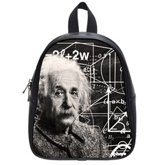 Albert Einstein School Bags (small)  by Valentinaart
