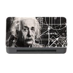 Albert Einstein Memory Card Reader With Cf by Valentinaart