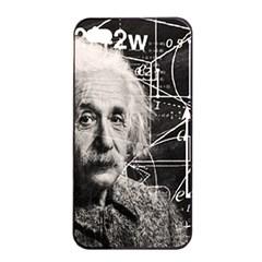 Albert Einstein Apple Iphone 4/4s Seamless Case (black) by Valentinaart