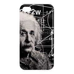 Albert Einstein Apple Iphone 4/4s Hardshell Case by Valentinaart