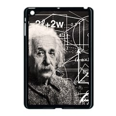 Albert Einstein Apple Ipad Mini Case (black) by Valentinaart