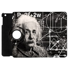 Albert Einstein Apple Ipad Mini Flip 360 Case by Valentinaart