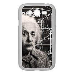 Albert Einstein Samsung Galaxy Grand Duos I9082 Case (white) by Valentinaart