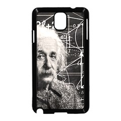 Albert Einstein Samsung Galaxy Note 3 Neo Hardshell Case (black) by Valentinaart