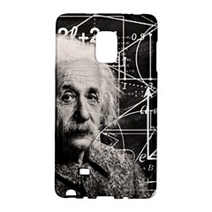 Albert Einstein Galaxy Note Edge by Valentinaart