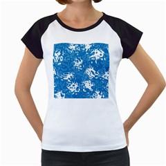 Pattern Women s Cap Sleeve T by Valentinaart