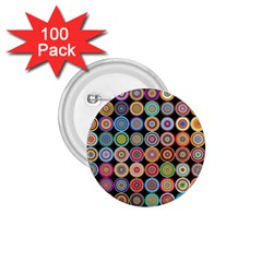 Pattern 1 75  Buttons (100 Pack)  by Valentinaart