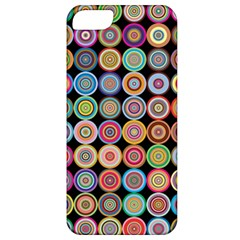 Pattern Apple Iphone 5 Classic Hardshell Case by Valentinaart