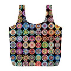 Pattern Full Print Recycle Bags (l)  by Valentinaart