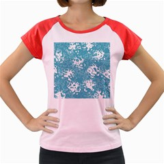 Pattern Women s Cap Sleeve T Shirt by Valentinaart