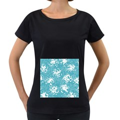 Pattern Women s Loose Fit T Shirt (black) by Valentinaart