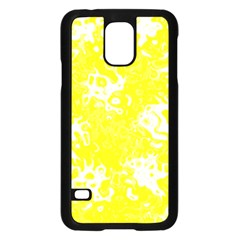 Pattern Samsung Galaxy S5 Case (black) by Valentinaart