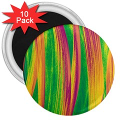 Pattern 3  Magnets (10 Pack)  by Valentinaart
