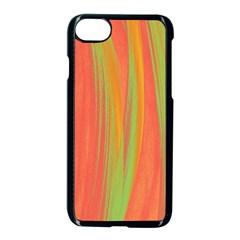 Pattern Apple Iphone 7 Seamless Case (black) by Valentinaart