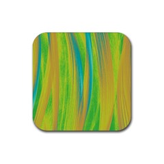 Pattern Rubber Coaster (square)  by Valentinaart