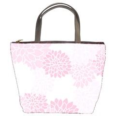 Floral Pattern Bucket Bags by Valentinaart