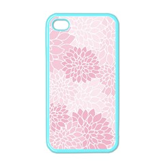Floral Pattern Apple Iphone 4 Case (color) by Valentinaart