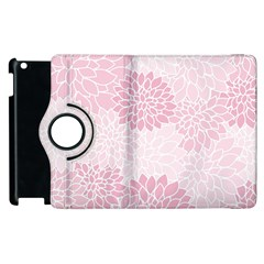 Floral Pattern Apple Ipad 3/4 Flip 360 Case by Valentinaart
