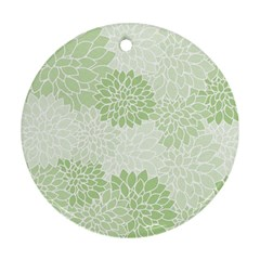Floral Pattern Ornament (round) by Valentinaart