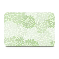 Floral Pattern Plate Mats by Valentinaart