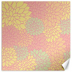 Floral Pattern Canvas 20  X 20   by Valentinaart