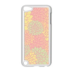 Floral Pattern Apple Ipod Touch 5 Case (white) by Valentinaart