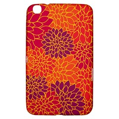 Floral Pattern Samsung Galaxy Tab 3 (8 ) T3100 Hardshell Case  by Valentinaart