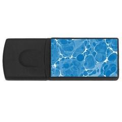 Pattern USB Flash Drive Rectangular (1 GB) by Valentinaart