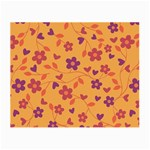 Floral pattern Small Glasses Cloth Front