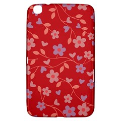 Floral pattern Samsung Galaxy Tab 3 (8 ) T3100 Hardshell Case
