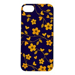 Floral Pattern Apple Iphone 5s/ Se Hardshell Case by Valentinaart