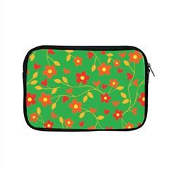 Floral Pattern Apple Macbook Pro 15  Zipper Case by Valentinaart