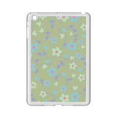 Floral Pattern Ipad Mini 2 Enamel Coated Cases by Valentinaart
