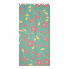 Floral Pattern Shower Curtain 36  X 72  (stall)  by Valentinaart