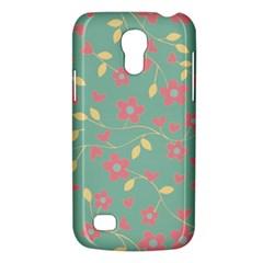 Floral Pattern Galaxy S4 Mini by Valentinaart