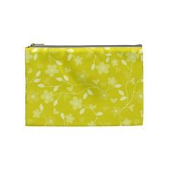 Floral Pattern Cosmetic Bag (medium)  by Valentinaart