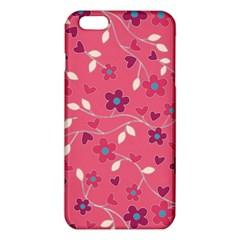 Floral Pattern Iphone 6 Plus/6s Plus Tpu Case by Valentinaart