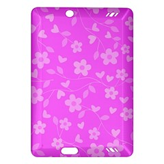Floral Pattern Amazon Kindle Fire Hd (2013) Hardshell Case by Valentinaart