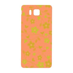 Floral Pattern Samsung Galaxy Alpha Hardshell Back Case by Valentinaart
