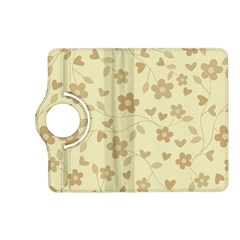 Floral Pattern Kindle Fire Hd (2013) Flip 360 Case by Valentinaart
