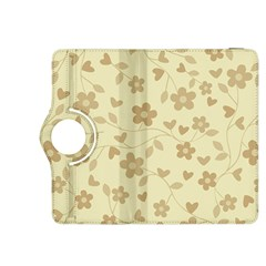 Floral Pattern Kindle Fire Hdx 8 9  Flip 360 Case by Valentinaart