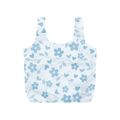 Floral Pattern Full Print Recycle Bags (s)  by Valentinaart