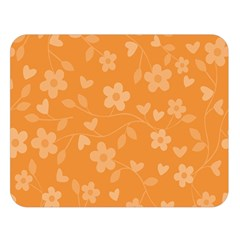 Floral Pattern Double Sided Flano Blanket (large)  by Valentinaart