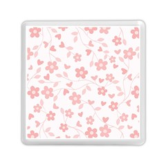 Floral Pattern Memory Card Reader (square)  by Valentinaart