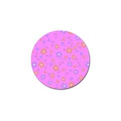 Floral Pattern Golf Ball Marker by Valentinaart